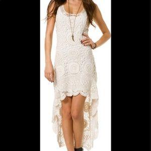 BILLABONG DESIGNER'S CLOSET Crocheted Dress